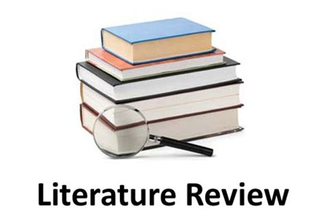 Define what a literature review is called